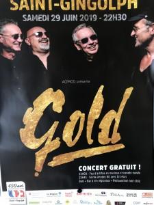 Soirée 450ème St-Gingolph 2019, After Groupe Gold